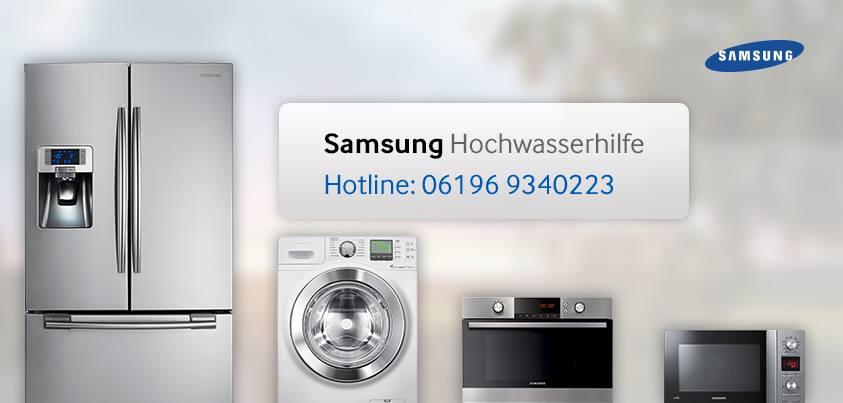 Samsung hilft Opfern der Flut-Katastrophe