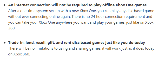 Xbox One: Microsoft rudert mit Online-Zwang und Co zurück