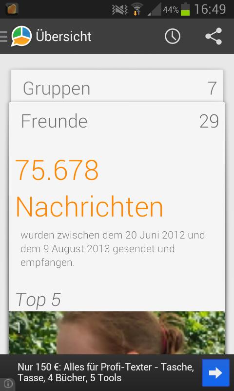 DIE App #23 – WhatStat