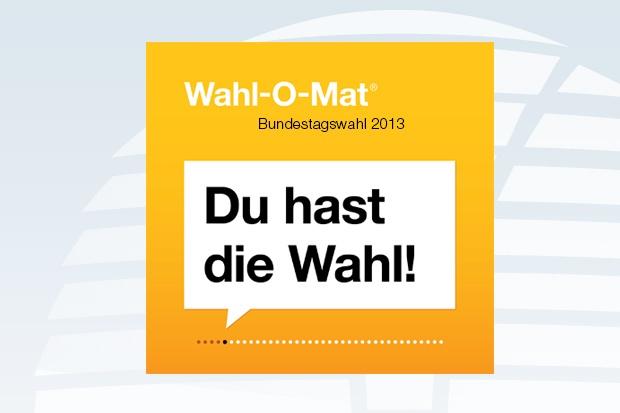 Wahl-O-Mat zur Bundestagswahl startet heute
