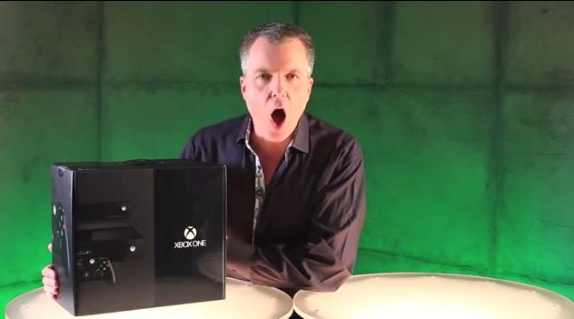 Xbox One: Microsoft präsentiert Unboxing-Video