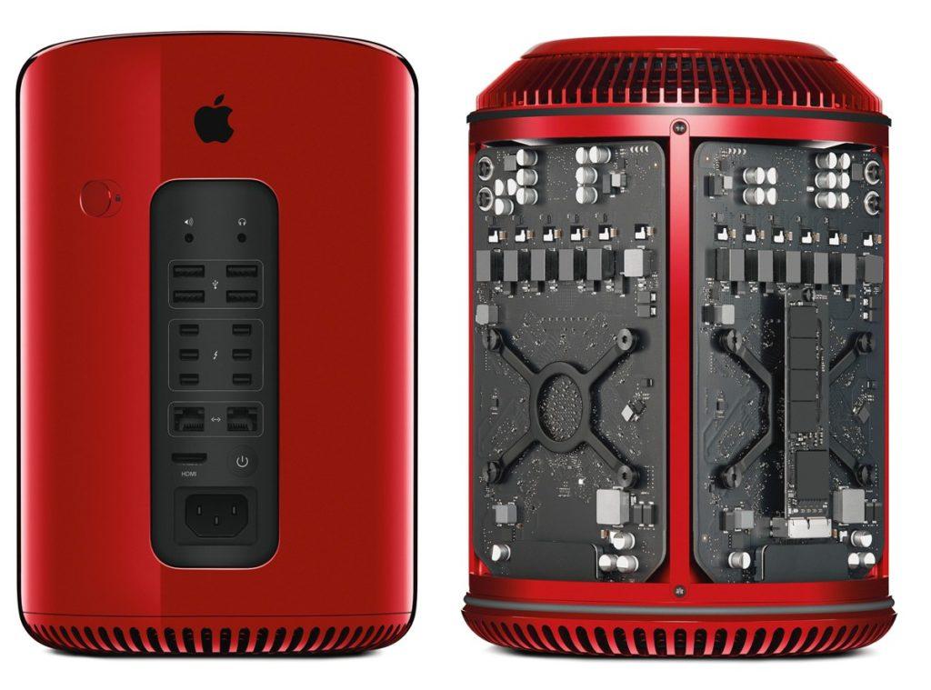 Apple: Roter MacPro ab 40.000 Dollar für guten Zweck