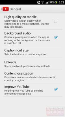 YouTube-App: Audio-Wiedergabe im Hintergrund bald verfügbar
