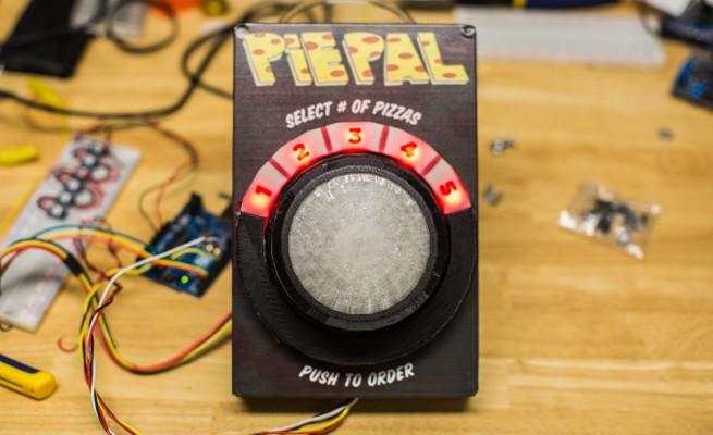 PiePal: Pizza auf Knopfdruck