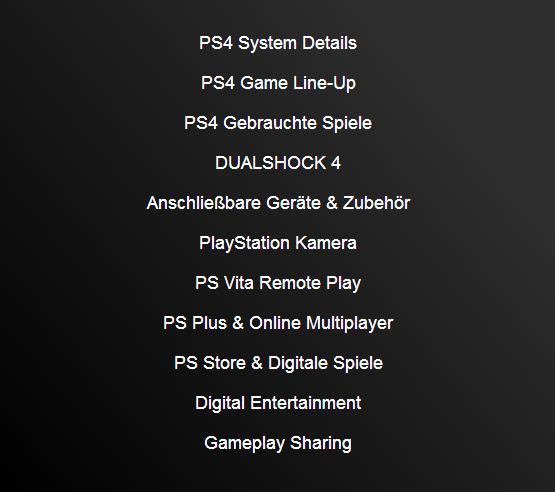 PlayStation 4: deutsches FAQ veröffentlicht