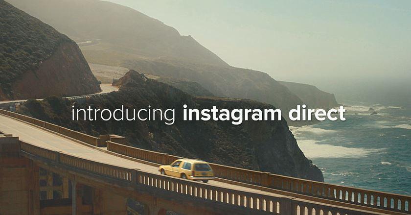 Instagram Direct: privates Teilen von Fotos und Videos jetzt möglich