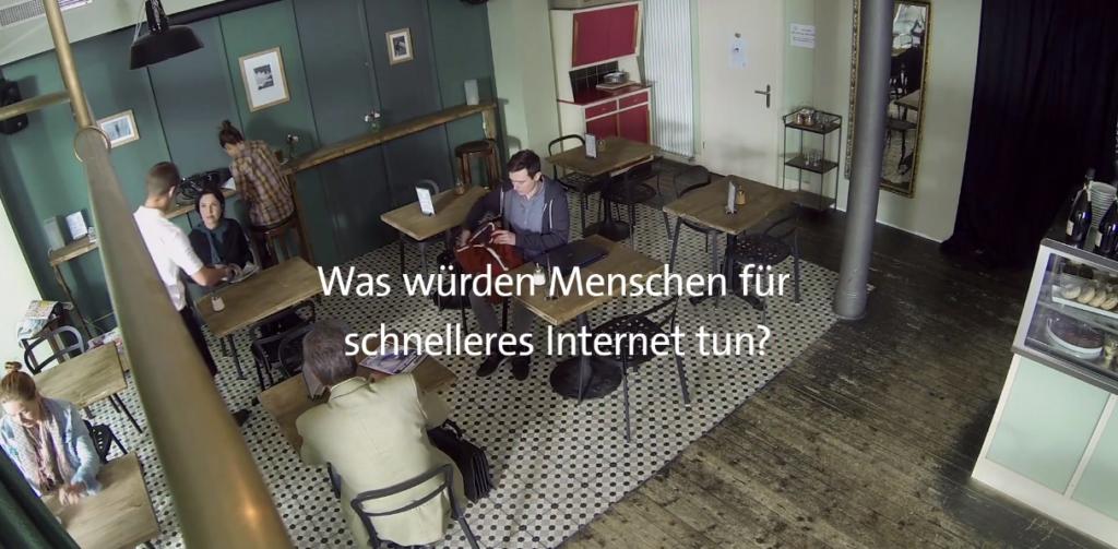 Was Menschen für schnelleres Internet machen
