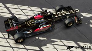Lotus F1, leider nicht von Anfang an spielbar