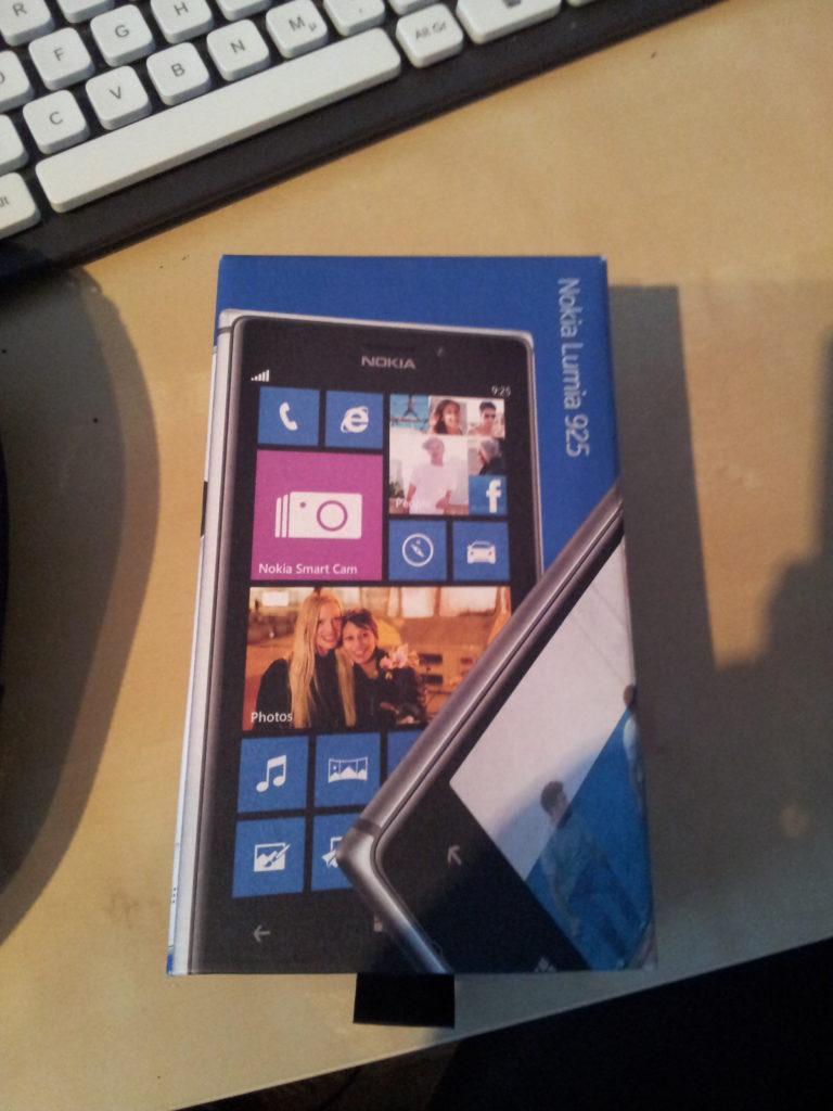 Lumia Logbuch #1: Schick, schick!