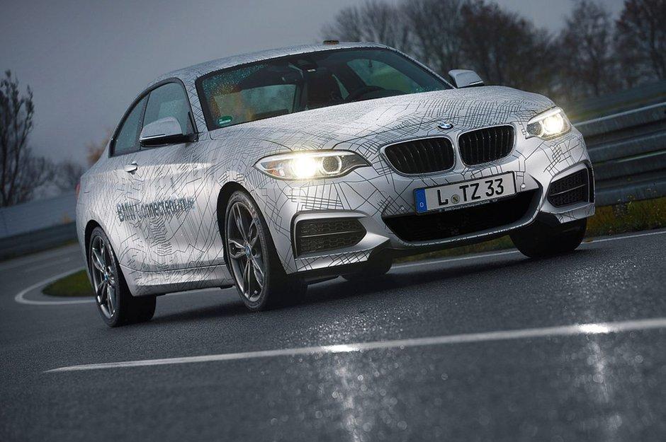[CES 2014] BMW stellt selbstdriftenden M235i vor