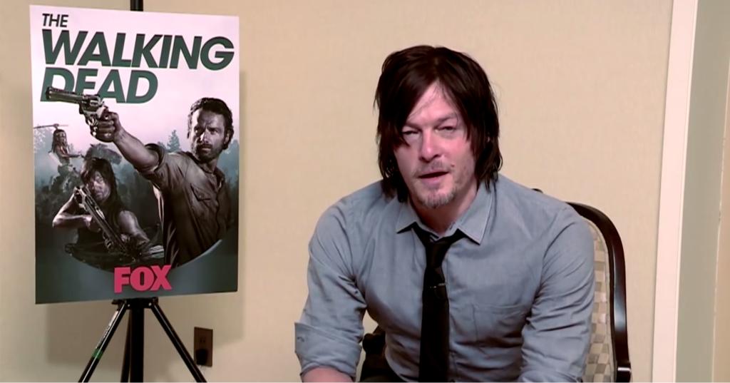 The Walking Dead: Team spielt Norman Reedus einen Streich