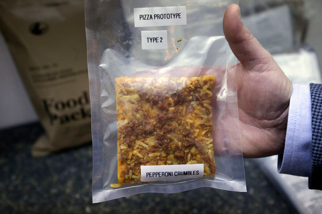 Militär: Pizza-Prototyp hält 3 Jahre ohne schlecht zu werden