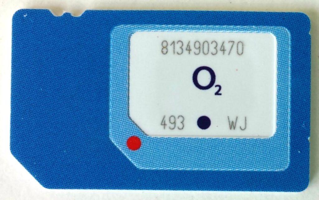 O2 veröffentlicht 3in1-SIM-Karte