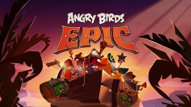 Angry Birds Epic: Rundenbasiertes Strategiespiel in Arbeit