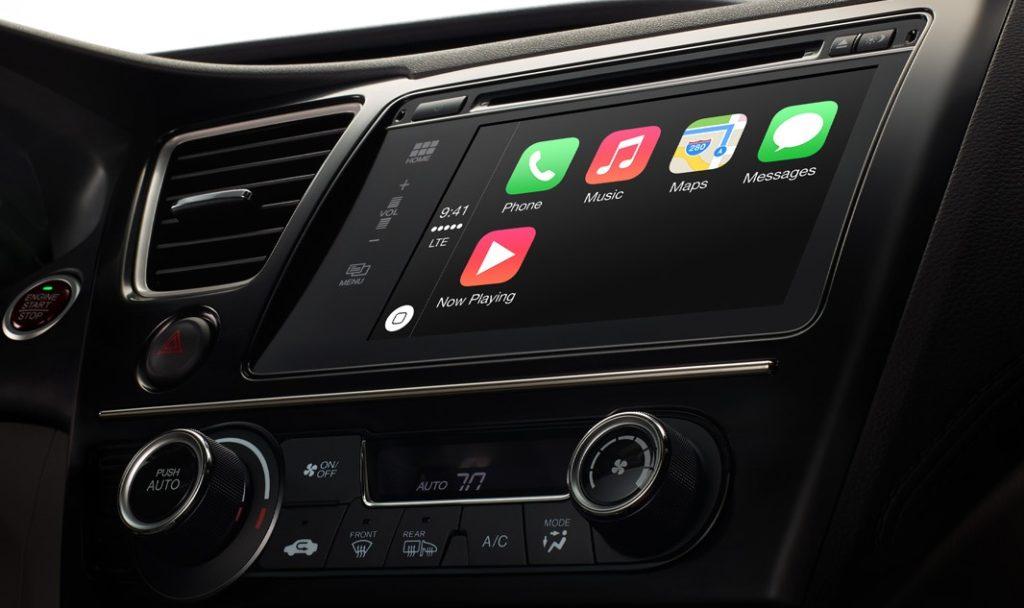 Apple CarPlay: Demonstration in Volvo und Mercedes-Benz Fahrzeugen