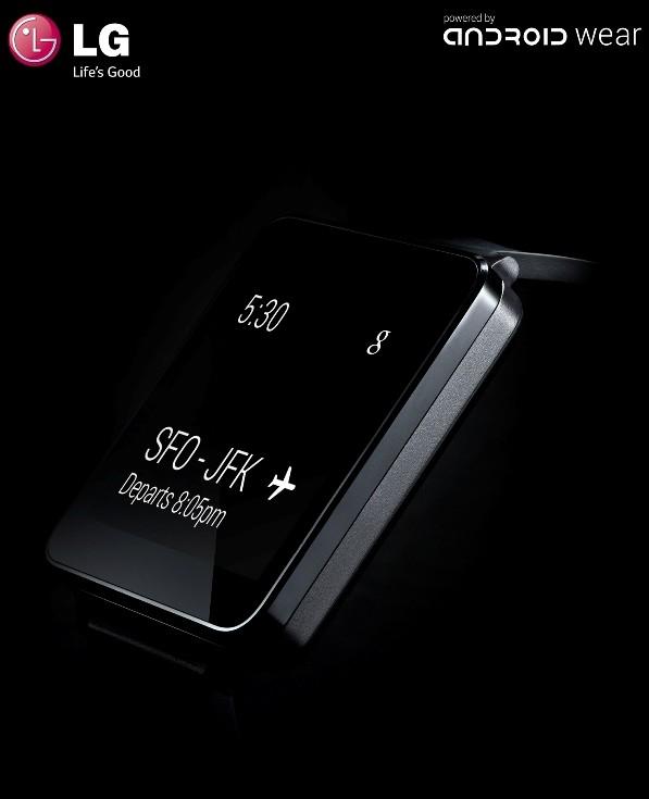 LG: Smartwatch G Watch vorgestellt