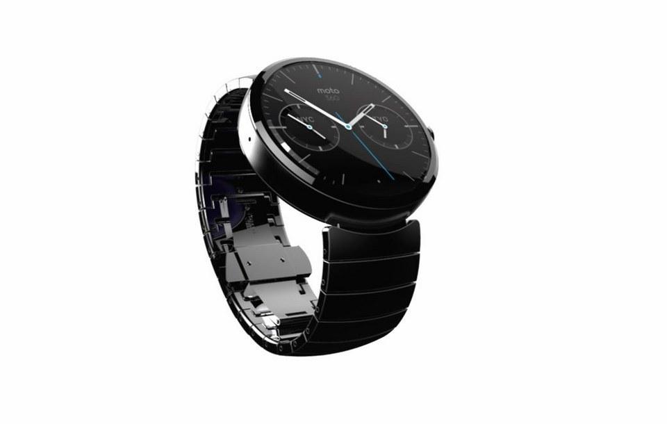 Motorola: Smartwatch Moto 360 vorgestellt