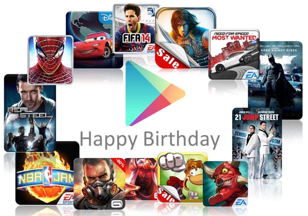 Android-Schnäppchen zum Geburtstag