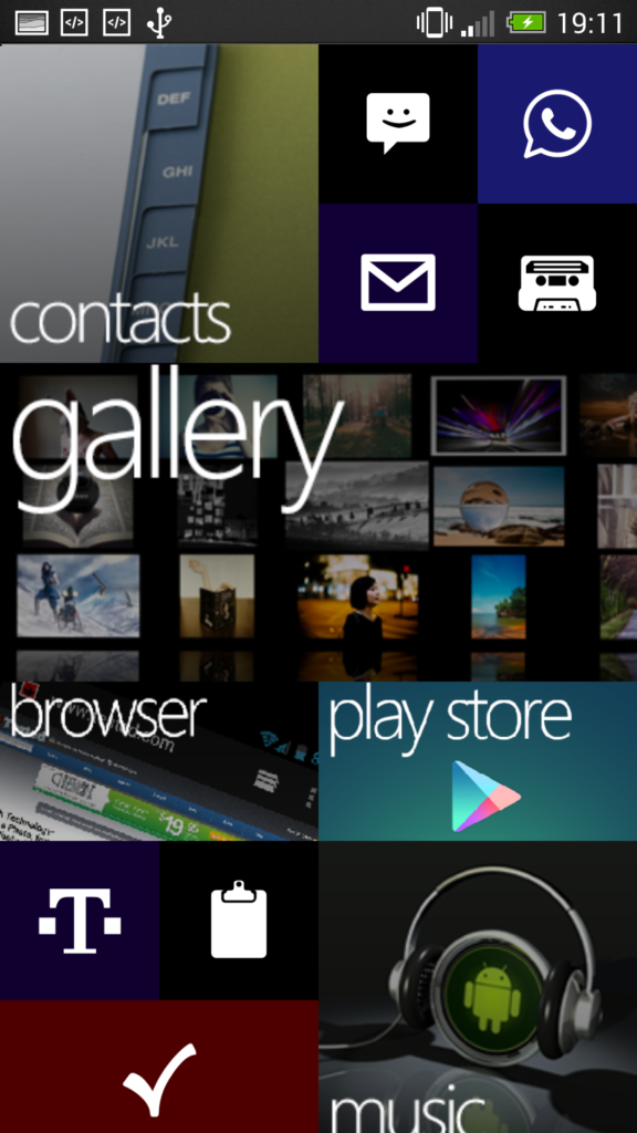 Windows 8 Theme Android