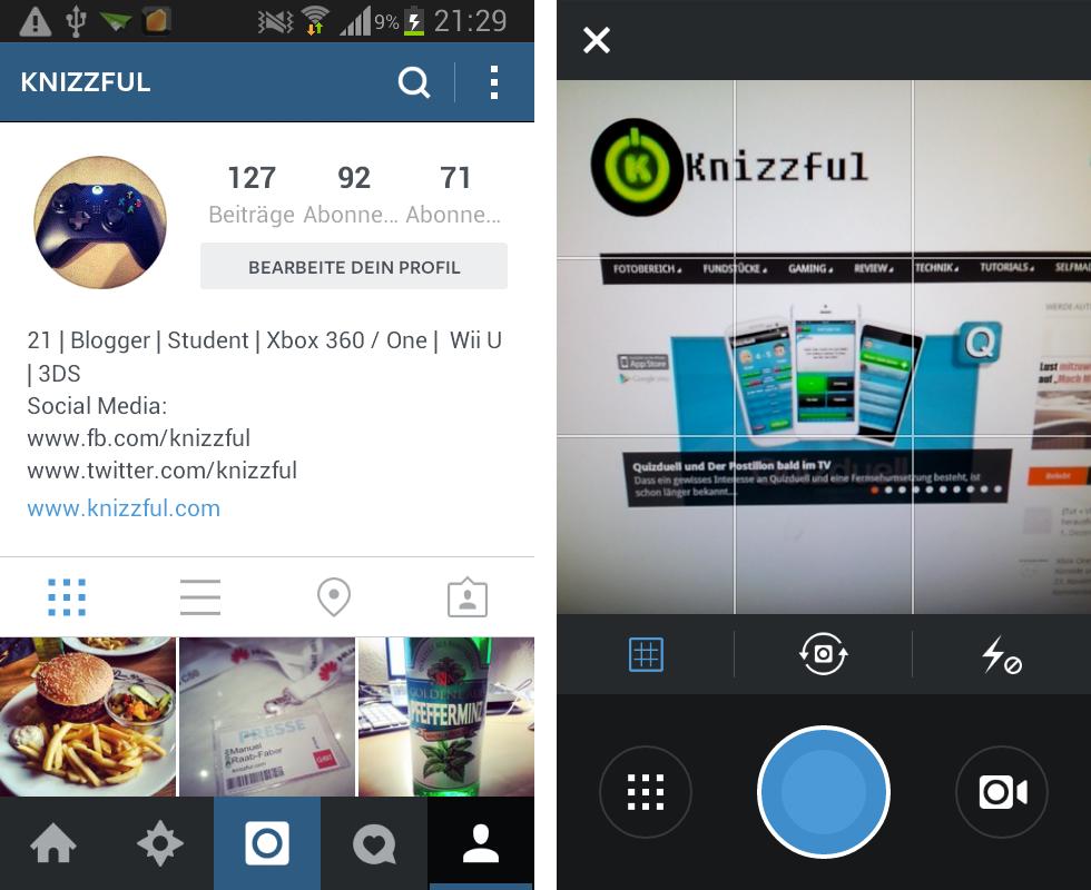 Android: Instagram bekommt großes Update