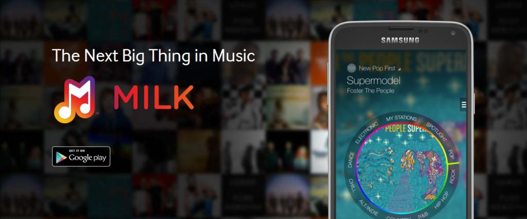 """Samsung: Kostenloser Musikdienst """"Milk"""" vorgestellt"""