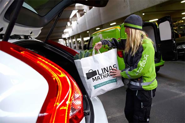 Volvo verwandelt Autos in Packstationen