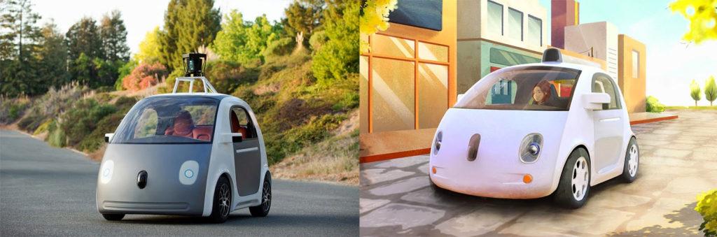 Google präsentiert selbständig fahrendes Auto