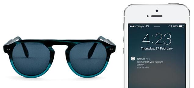 Diese Sonnenbrille verbindet sich per Bluetooth mit dem Smartphone