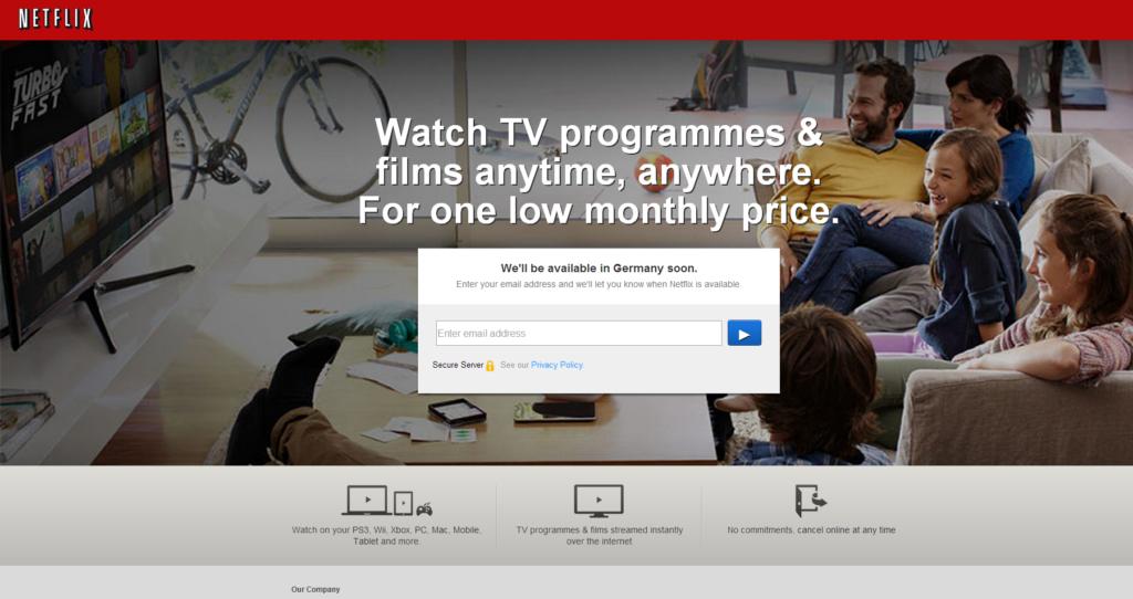 Netflix kommt noch dieses Jahr nach Deutschland