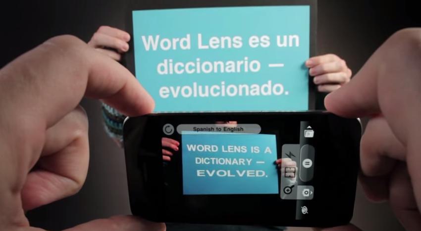 Google kauft Übersetzungs-App Word Lens : Apps jetzt kostenlos
