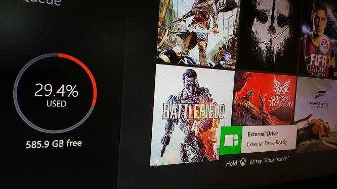 Xbox One: Externe Festplatten werden künftig unterstützt