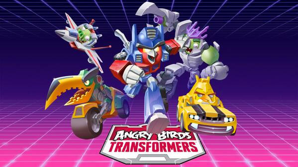 Angry Birds Transformers angeteasert