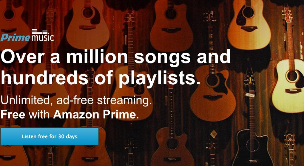 Amazon Prime Music startet