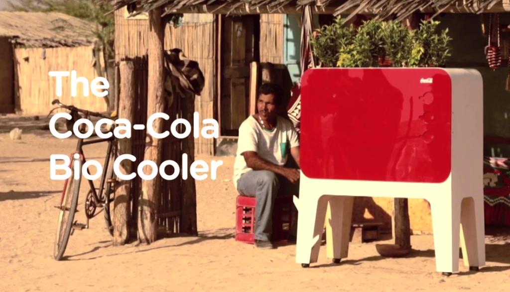 Coca Cola: Bio-Kühlschrank funktioniert ohne Strom