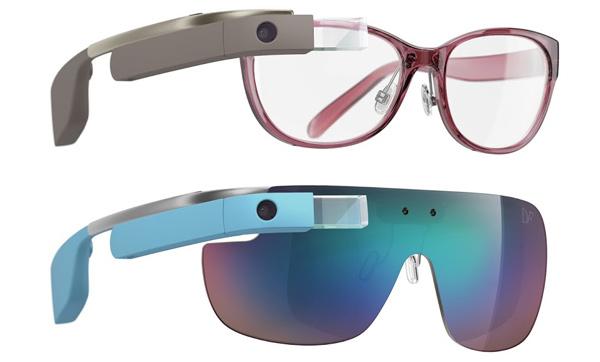 Google zeigt Designer-Glass-Modelle