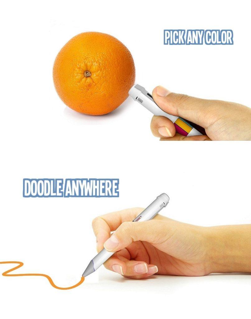 Scribble: Stift reproduziert 16 Millionen Farben