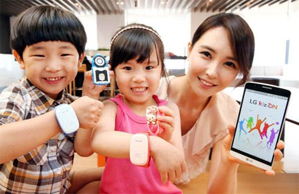 LG KizON: Wearable überwacht Aktivitäten der Kinder