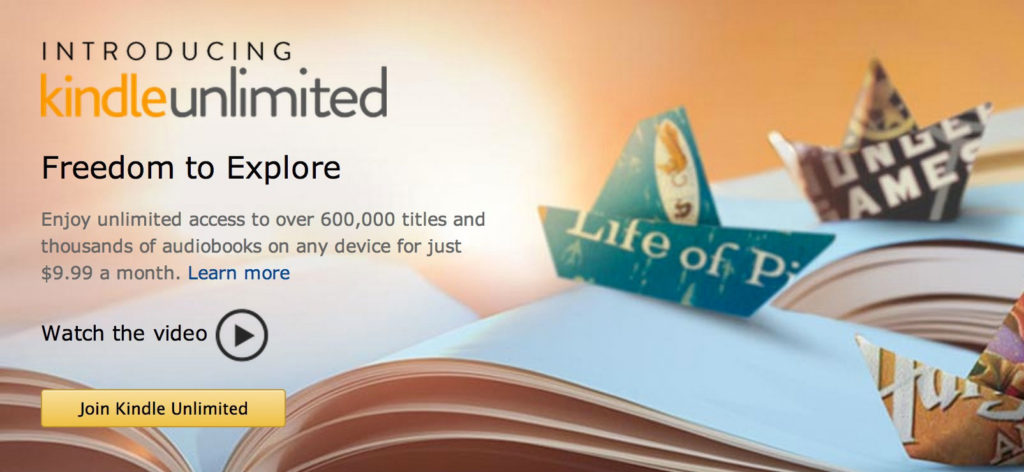 Kindle Unlimited: Amazon testet (Hör-)Buch-Flatrate