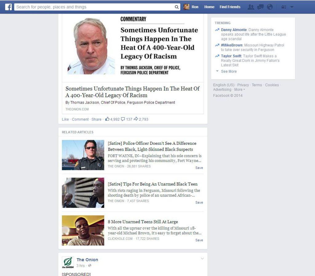 Facebook: Kennzeichnung von Satire wird getestet