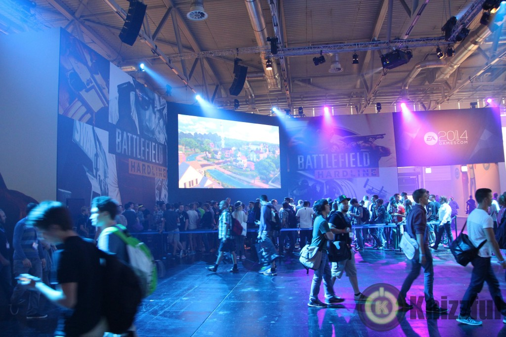 gamescom 2014 Battlefield Hardline
