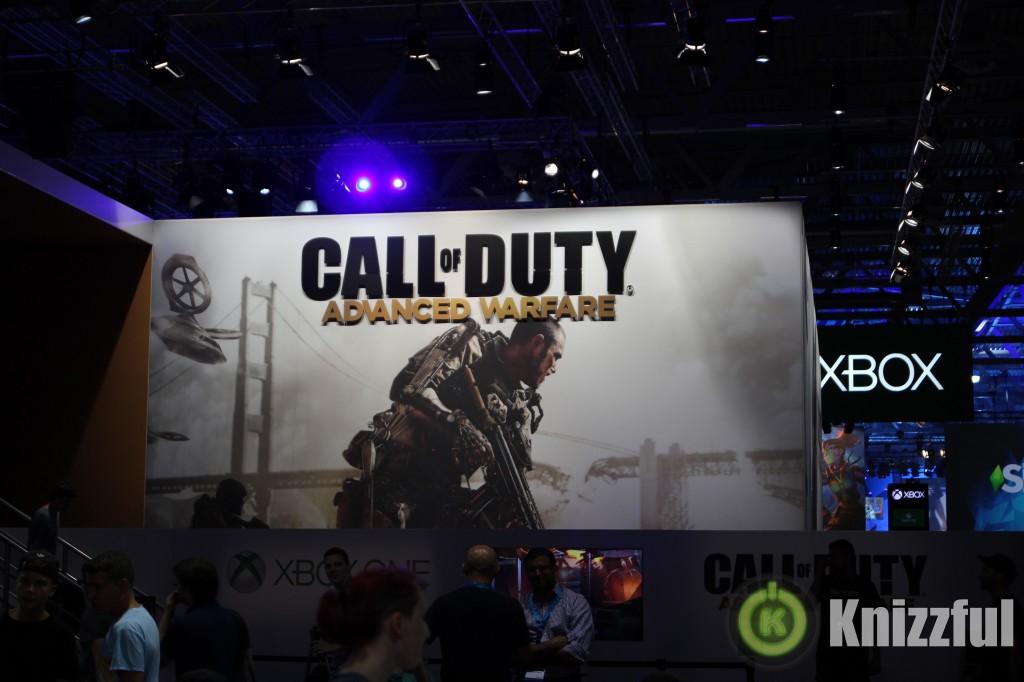 gamescom 2014 Call of Duty Advanced Warfare