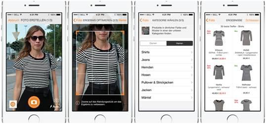 Zalando: Suchfunktion per Bilderkennung kommt