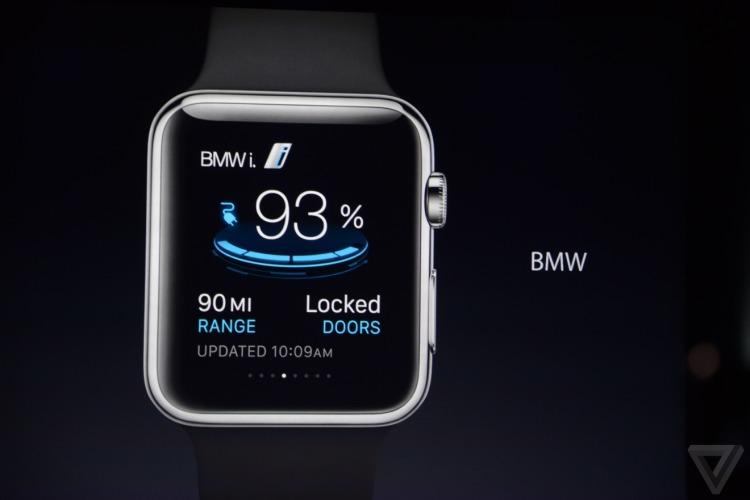 Apple Watch BMW i-App