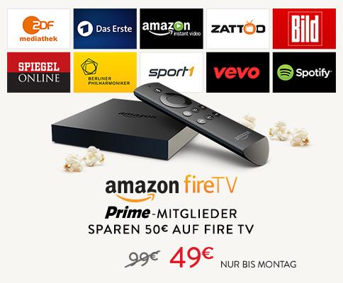 Amazon fireTV jetzt auch in Deutschland erhältlich