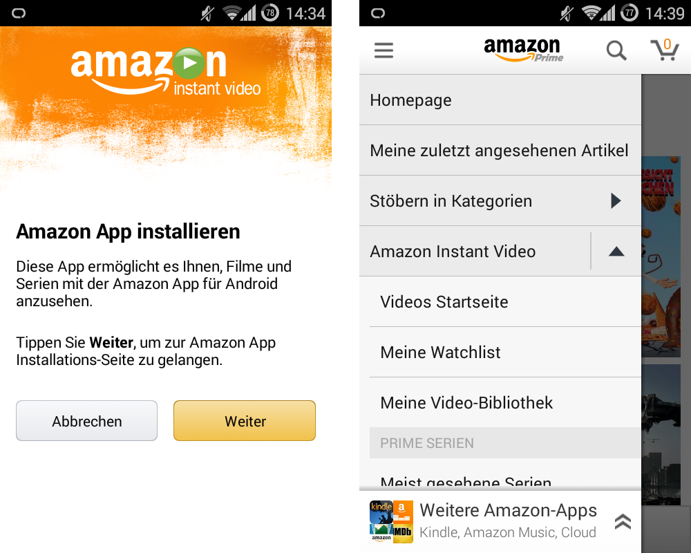 Amazon Instant Video: Die Android-App ist da!