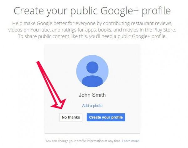 Google+ Zwang wurde eingeschränkt