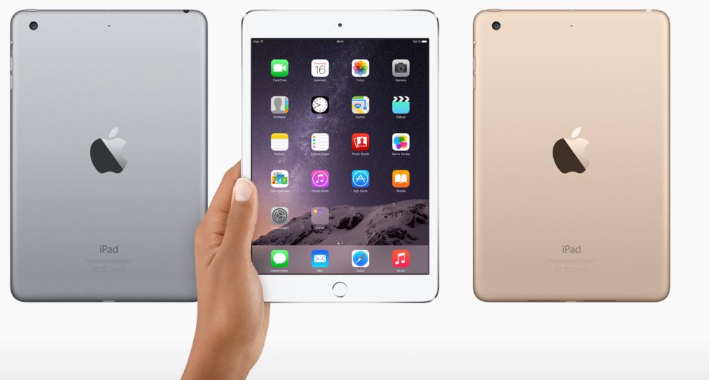 Apple: iPad mini 3 offiziell vorgestellt