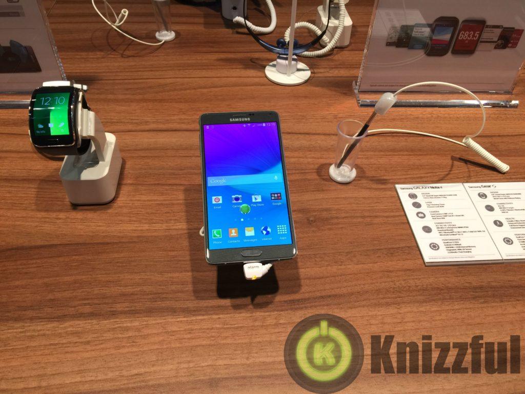 Angetestet: Samsung Galaxy Note 4 + Gear S