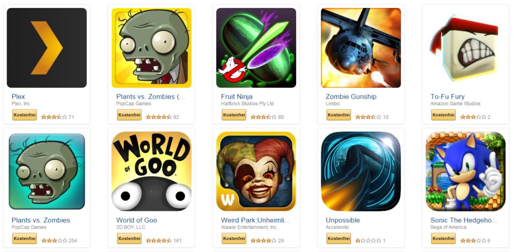 Amazon: 40 gratis Apps bis zum 01.11.2014
