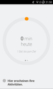 Google Fit Screenshot